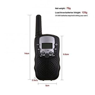 8 Channel Twin Walkie Talkies UHF400-470MHZ 2-Way Radio 3Km Range