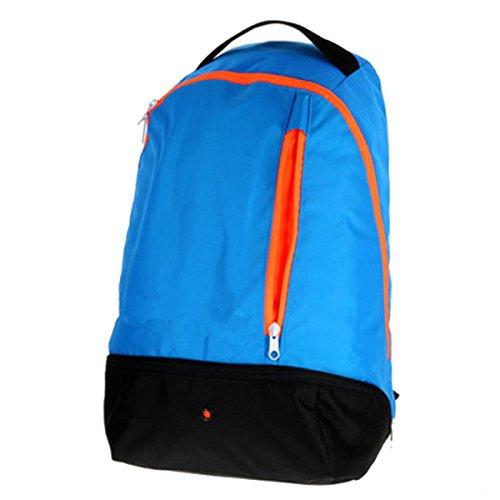 BULAGE Paket Sport Freizeit Schultern Europa Im Freien Rucksack Männlich Und Weiblich Licht Taschen Reisen Bequemlichkeit Schmutz Praktisch Blue