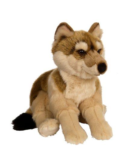 Gipsy 054691 - Lobo de Peluche (30 cm), Color marrón