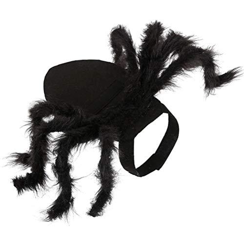 Schrecklich Kostüm Baby - Balacoo 1 stück Halloween pet Spider kostüm lustige schreckliche Foto Requisiten Haustier Kleidung Hoodie für Katze welpen Hund größe s