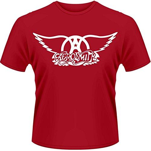 Plastic Head Aerosmith Logo-T-shirt  Uomo    rosso Medium