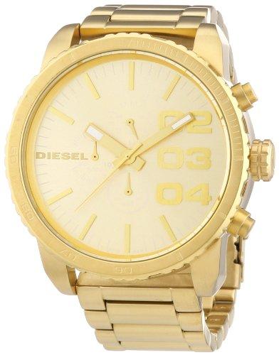 Diesel Herren-Armbanduhr XL Chronograph Quarz Edelstahl beschichtet DZ4268
