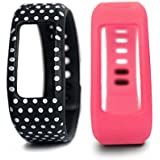 Colorful Spots Replacement Wrist Band for Garmin Vivofit (No Tracker, Replacement Bands Only) by VAN+
