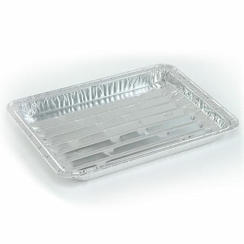 Large Broiler Aluminum Pan (1) by Nicole Home Collection -