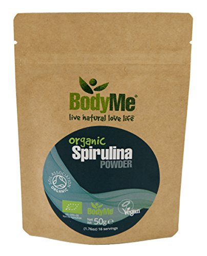 BodyMe 50g Organic Spirulina Powder