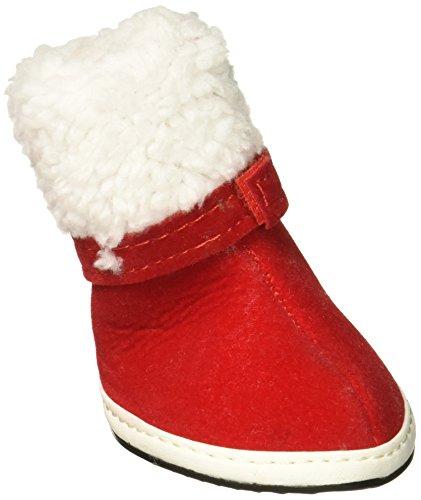 sourcingmap Pet Winter Warm Weihnachten Schuhe Stiefel -