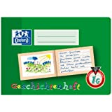 Oxford 100050105 School Learning to Write Notebook, A5, Lineature 0 (First Class) with Coloured Middle Strip A5 quer, 16 Blatt 0