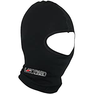 Leopard Windproof Thermal Cotton Black Motorbike Motorcycle Balaclava Facemask Headwear