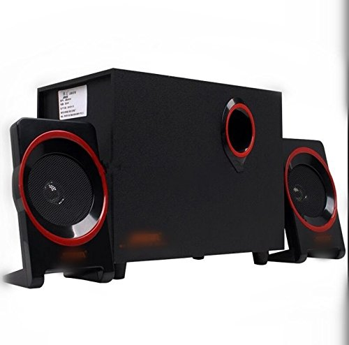 Aoauto computer sistema di altoparlanti con subwoofer amplificato
