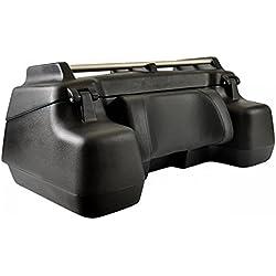 Kimpex - Quad Koffer hinten Cargo Deluxe, 78l, schwarz, Universal, mit integriertem Bremslicht und Rückenlehne