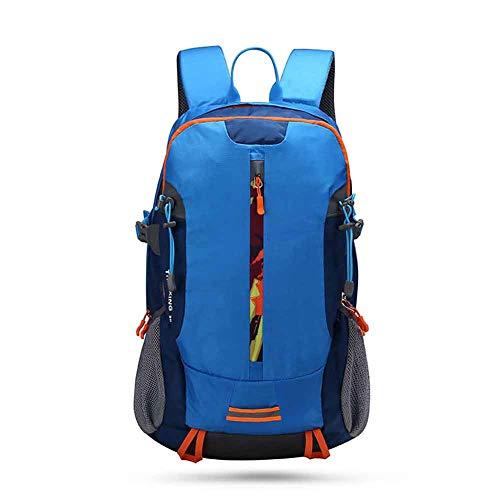 LXJL Wanderrucksack 30L wandern Rucksack männer und Frauen wandern Reise Wasserdichte große kapazität Laptop-Tasche wandern Camping Jagd Skifahren Regen,A