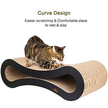 PetCheer - Arbre à chat en carton de qualité supérieure
