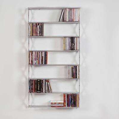 STRETCH CD-Regal kurz/breit für ca. 320 CDs
