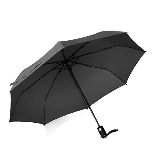 GEEKERBUY Regenschirm TaschenschirmAutomatik, Regenschirm Klein Sturmfest für Kinder Damen Herren, Winddicht Mini Schirm für Outdoor Trekking Wandern