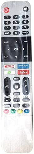 New TV Remote Control 539C-268920-W010 Replacement Fit for Skyworth Android Smart TV 43UB5500 43UB5550 43UB556