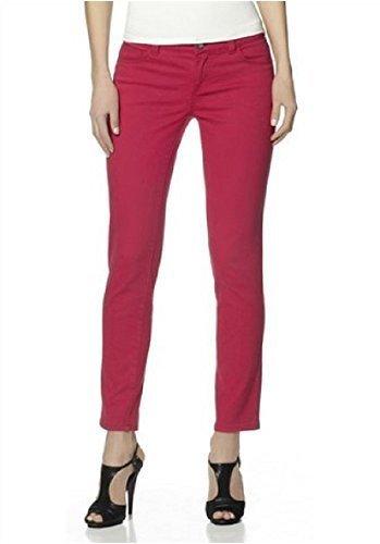 Jeans Röhrenjeans von Laura Scott - Rot Gr. 46