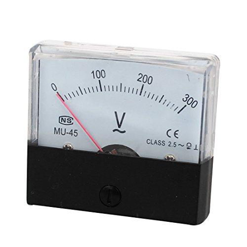 MU-45 Feinabstimmung Dial Analog Volt Panel Meter Spur AC 0-300V -