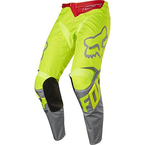 Fox 2017 Herren Motocross / MTB Hose - 180 RACE - gelb: Größe Hose: 32 US / 48 EU Fox Motocross Hose