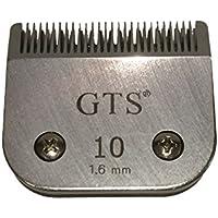 Cuchillas recortadoras A5 de 1,6 mm #10 Wahl, Andis, Aesculap, Moser, Oster, Liveryman