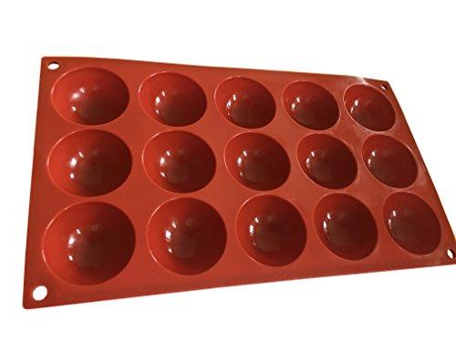 15-halbkugeln-bllchen-Moule-en-silicone-Moule--Chocolat-Moule--gteau-Moule--glaons-Moule--pralines-Cup-Cake-Biscuit-bricolage-ptisserie-Dcorer-forme-ronde-carre-de-Royal-House-marchandises