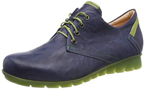 Think! Damen Menscha_484070 Brogues, Blau (Jeans/Kombi 84), 38 EU