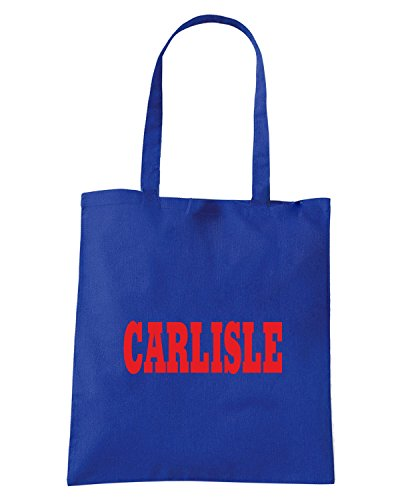 T-Shirtshock - Borsa Shopping WC0759 CARLISLE Blu Royal