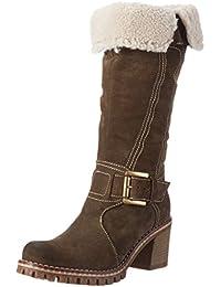 MANASCervia - Stivaletti Donna amazon-shoes marroni Autunno