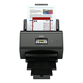 Brother ADS-2800W Document Scanner | Wireless, PC Connected & Network | Desktop | Includes Professional Software