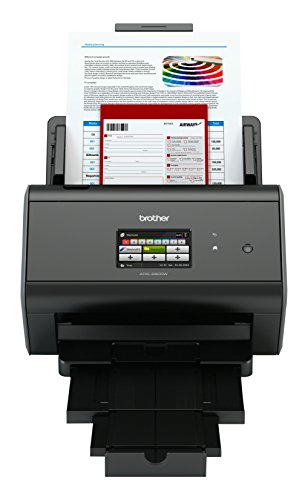 Price comparison product image Brother ADS-2800W Document Scanner | Wireless, PC Connected & Network | Desktop | Includes Professional Software