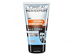Loreal Men Experts Hydra Energetic Purifying Face Wash Skin & Stubble 150 ml With Free Ayur Sunscreen 50 ml