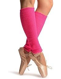Neon Pink Dance/Ballet Leg or Arm Warmers - Leg Warmers - Rosa Calentadores moda Talla unica (37 cm)