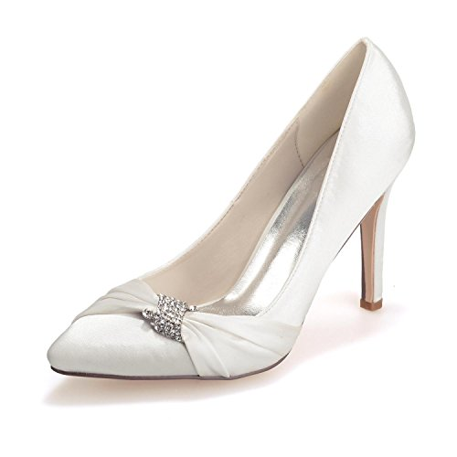 L@YC 0608-23 Tacco alto Da Donna Matrimonio Seta Close Up Outdoor / abbigliamento / Casual E Serata / Festa A
