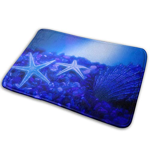 Door Floor Mat Area Rug Anti-Skid Foot Pad Starfish Sea Absorption Doormats Home Bathroom Entry Clean Step - Sea Clean Shampoo