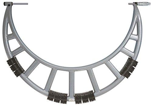 Tesa 00111901isomaster AB micrómetro con yunques intercambiables, 0mm/100mm aplicación gama