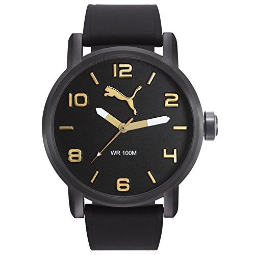 PUMA Time ALTERNATIVE ROUND PU104141008 Reloj de Pulsera para hombres Carcasa Maciza