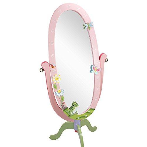 Espejo infantil de cuerpo enteroMagicGardenFantasy Fieldsde madera W-8968A