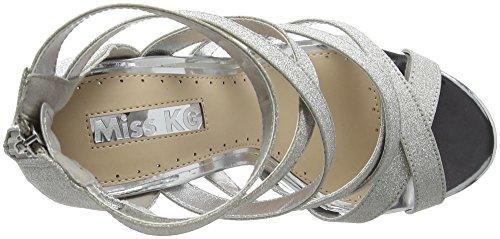 Miss KG Flick Scarpe con Tacco da Donna Argento (Silver)
