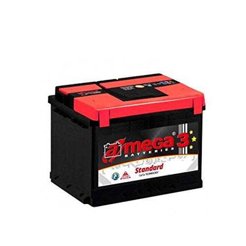 Batería coche Calcio Plata 74Ah/720A +Derecha