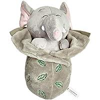 Sunny Toys 33016 Peluche Elefante y mono, Gris/Marrón