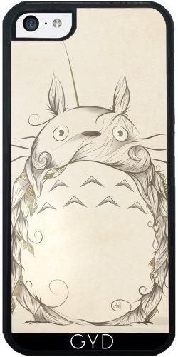 Leder Flip Case Tasche Hülle für Apple iPhone 5/5S - poetische Wesen by LouJah Silicone