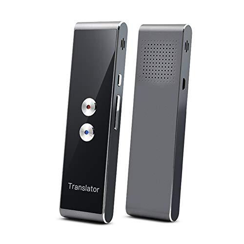 Taurusb Language Translator Geräte, tragbare Mini-drahtlose intelligente Übersetzer 40 Sprachen Zwei-Wege-Echtzeit Instant-Voice Translator APP Bluetooth Multi-Language,A1