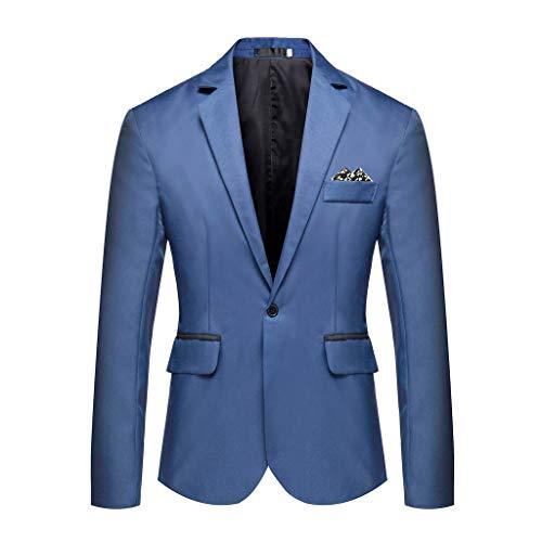 Beikoard Herren Stilvolle beiläufige Feste Blazer Geschäftshochzeitsfest Outwear Mantel Anzug Tops Kostüm Veste Homme Slim Fit - Veste Kostüm
