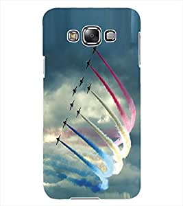 ColourCraft Fighter Jets Design Back Case Cover for SAMSUNG GALAXY GRAND MAX G720