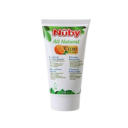 Nuby All Natural Flüssiges Babypuder (1 x 125 g)