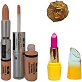 ADS Foundation and Concealer (2 in 1), Lipstick and Band