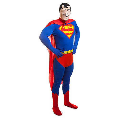 2Nd Skin Superman Costume Dc Comics Costume Film Themed Party L Chest Up To 42 by (Kostüm 2nd Superman Skin)