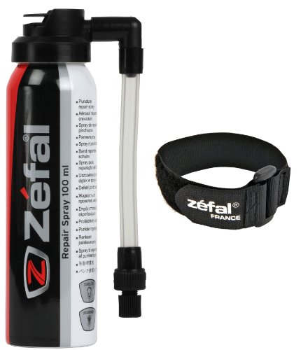 Zefal Reifenreparaturspray 100 ml with Holder, 3576262