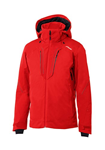 Phenix Herren Twin Peak Jacket Skijacke, Red, XL
