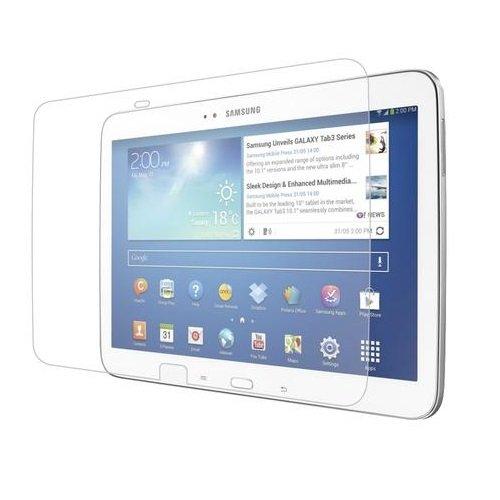 Saxonia. 1x Displayschutzfolie für Samsung Galaxy Tab 3 10.1 GT-P5200 P5210 P5220 LTE in bester Qualität inkl. Mikrofasertuch von Saxonia - Matt