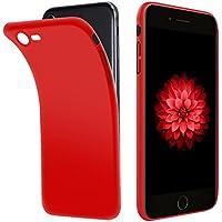 2d5a01ec484 Funda iPhone 8, Funda iPhone 7, Vkaiy móvil Funda Suave TPU Gel Ultra Fina